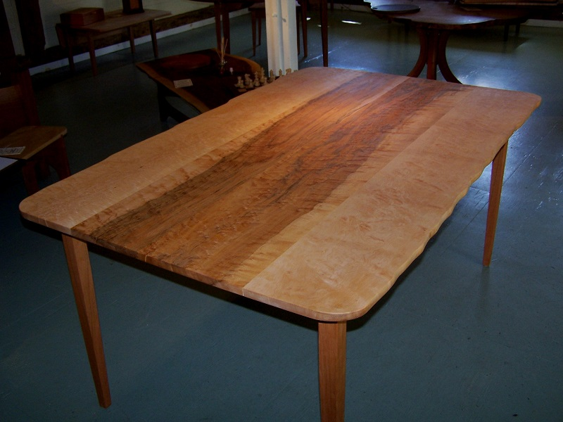 Maple, Cherry, dining Table, Furniture, artisans, woodworking, table, hardwood