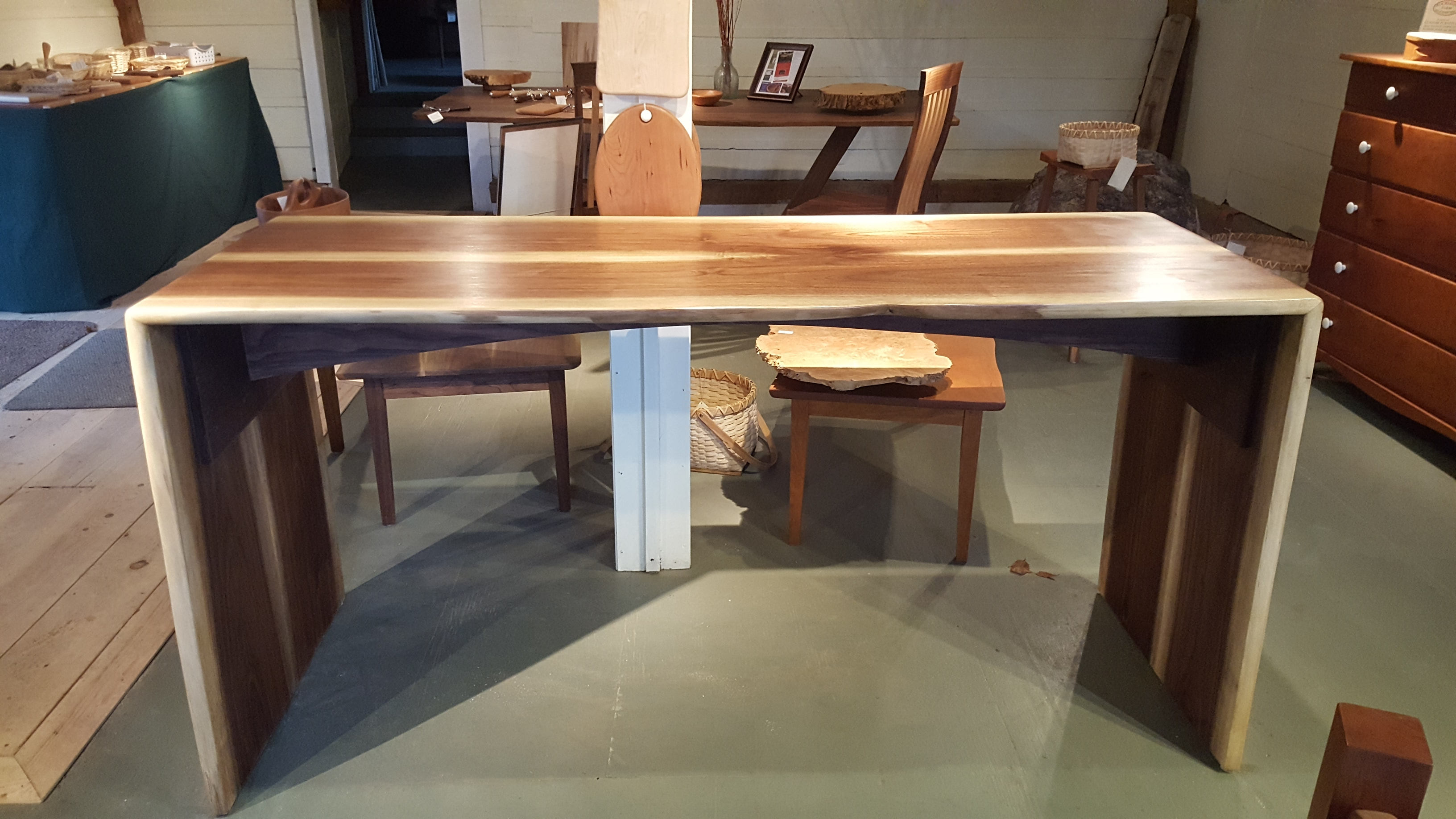bar, table, black walnut, artisan, woodworking, wood, vermont