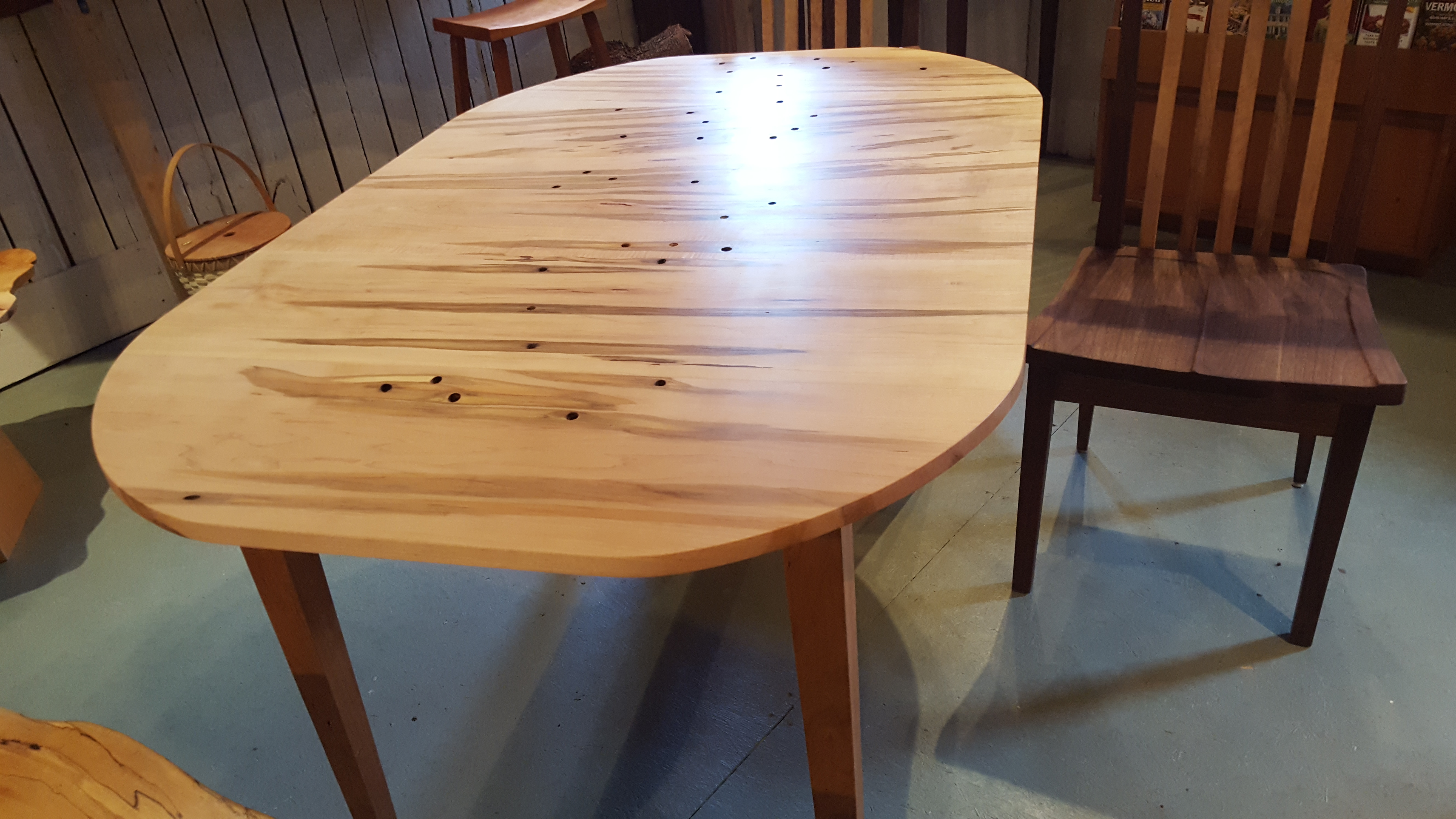 cherry, maple, table, artisans, woodworking